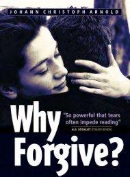 Why Forgive? - Christian Ezine Community