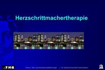 Herzschrittmachertherapie - FINeST