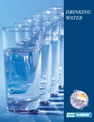 DRINKING WATER - SNF Group