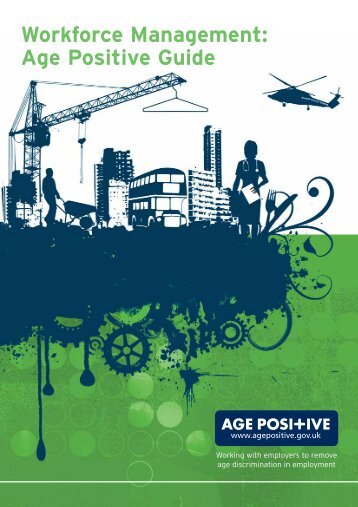Workforce Management: Age Positive Guide - Employers
