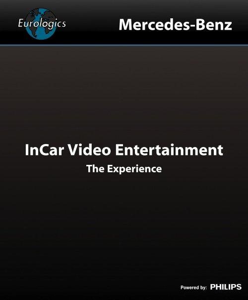 InCar Video Entertainment Mercedes-Benz - Eurologics