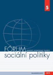 č. 5/2010 - Výzkumný ústav práce a sociálních věcí