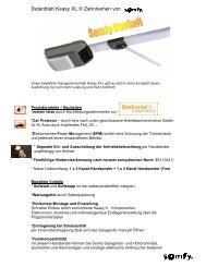 Datenblatt Keasy XL ⊕ Zahnriemen von - Antriebe 24