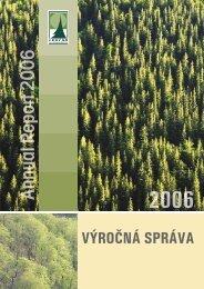VÝRONÁ SPRÁVA - Lesy SR š.p.