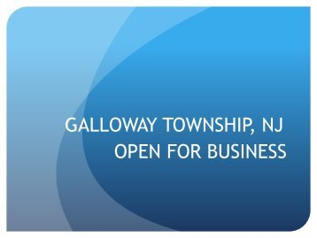 Its the Right Time to Grow Your Business in Galloway