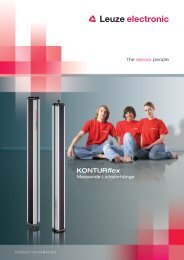 KONTURflex - Leuze electronic