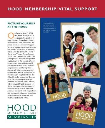 hood membership:vital support - Hood Museum of Art - Dartmouth ...