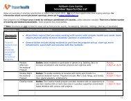 Volunteer Opportunities List - Fraser Health Authority