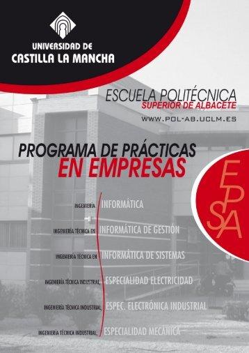 RevistaPracticasEPSA.. - Universidad de Castilla-La Mancha