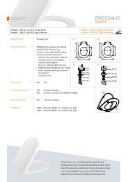 seats for your senses Pressalit T Soft D, incl. D15 uni ... - Pressalit A/S
