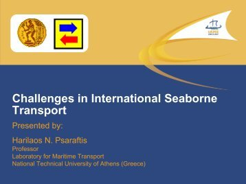 Challenges in International Seaborne Transport - Laboratory for ...