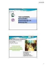 Informācija - Latvijas Nedzirdīgo savienība