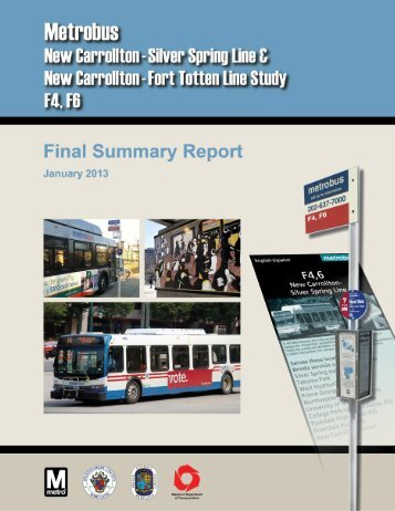 Final Report - Metrobus Studies