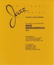 MIKE MARKAVERICH: