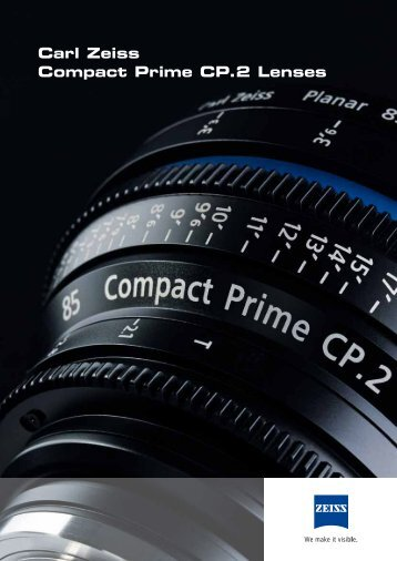 Carl Zeiss Compact Prime CP.2 Lenses