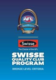 Swisse Quality clubs - AFL Community