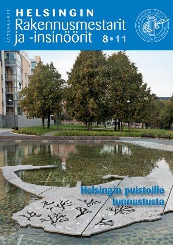 Yhdistyksen jäsenlehti 8/11, PDF tiedosto - Helsingin ...