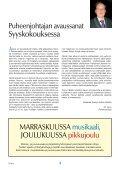 Yhdistyksen jäsenlehti 8/11, PDF tiedosto - Helsingin ... - Page 3