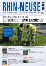 Dans les villes et villages - Agence de l'Eau Rhin-Meuse