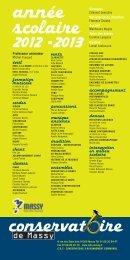 FICHE TARIFS 2012 - 2013_fiche 03-04 - Massy