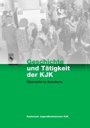 Geschichte und Tätigkeit der KJK - VOJA