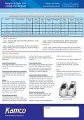 Scalebreaker Descaling Pump Range data sheet - Kamco - Page 2