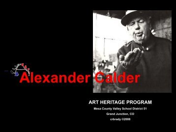 Alexander Calder - Art Heritage