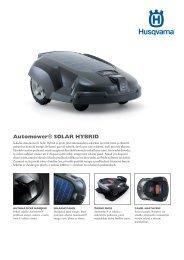 Automower® SOLAR HYBRID - AROBOT