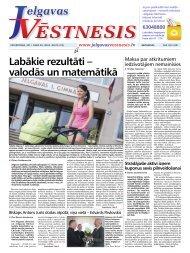 2011.gada 28.jūlijs Nr.29(214) - Jelgavas Vēstnesis