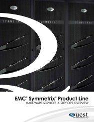 EMC® Symmetrix® Product Line - Quest International