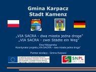 Gmina Karpacz Stadt Kamenz