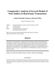Comparative Analysis of Several Models of Price Indices in Real ...