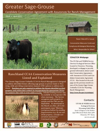 April 2011 - Wyoming Association of Conservation Districts