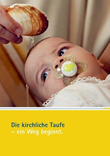 Die kirchliche Taufe - Reformierte Kirchen Bern-Jura-Solothurn