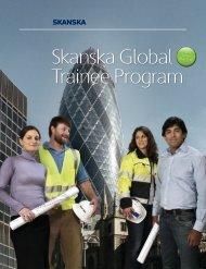 Skanska Global Trainee Program