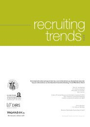 trends – Recruiting - Social Media Consulting