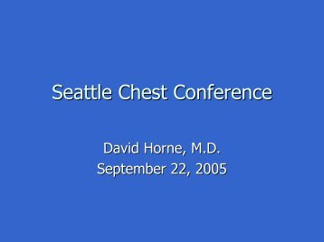 Download David Horne's presentation