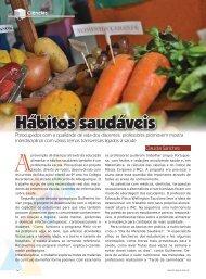Hábitos saudáveis - Appai