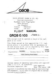 N4446Y USA Twin II Flight Manual - Utah Soaring Association
