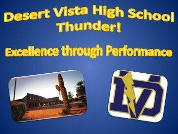 Dec 3rd Open House - Desert Vista High School