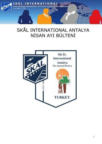 PDF - Skal Antalya