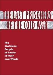 The Last Prisoners of the Cold War