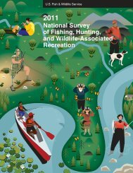 2011 National Survey of Fishing, Hunting, and Wildlife-Associated ...