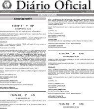 PODER EXECUTIVO - Prefeitura Municipal de Rio Claro