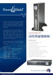 PowerShield Commander RT UPS Brochure