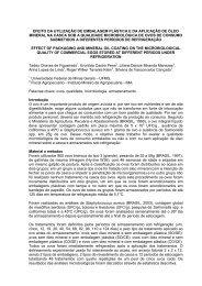 AVALIAÇÃO DA QUALIDADE MICROBIOLÓGICA DE ... - SOVERGS