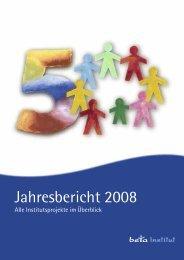 Jahresbericht 2008 - beta Institut