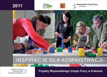 Inspiracje dla administracji - Wojewódzki Urząd Pracy w Krakowie