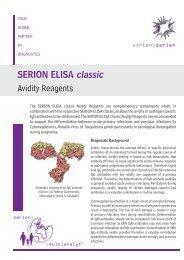 SERION ELISA classic Avidity Reagents