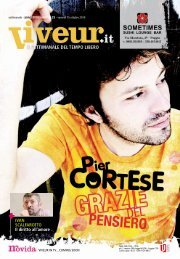Il cantautore Cortese (puoi chiamarlo così) - Viveur